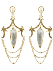 Stephen Webster Large Chandelier Earrings Metallic
