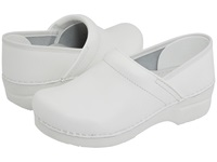 Dansko Professional Box Leather Men's White Box Men's Clog Shoes