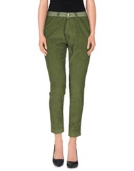 Two Women In The World Casual Pants Military Green