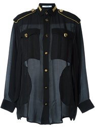 Givenchy Military Blouse Black