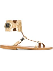K. Jacques 'Caravelle' Sandals Brown