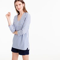 Pre Order Thomas Mason For J.Crew Scoopneck Tunic In Classic Stripe