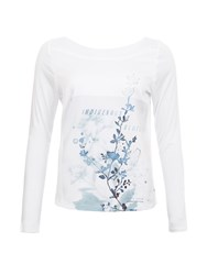 Garcia Printed Top White