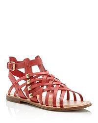 Marc Fisher Fiorela Woven Flat Sandals Compare At 89 Pink