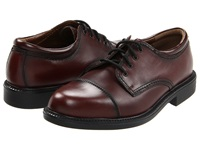 Dockers Gordon Antiqued Cordovan Men's Lace Up Cap Toe Shoes Burgundy