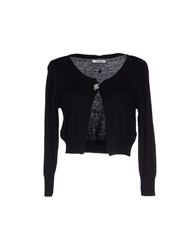 Lucky Lu Wrap Cardigans Black