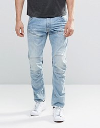 G Star G Star Elwood 5620 3D Taper Jeans Light Aged Lt Aged Blue