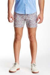 Parke And Ronen Printed Holler Short Gray