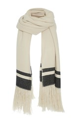 Isabel Marant Cover Scarf White