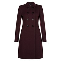 Hobbs Fonda Coat Burgundy