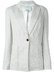 3.1 Phillip Lim Boucle Blazer Nude And Neutrals