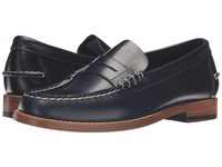 Sebago Legacy Penny Navy Leather Men's Shoes Blue
