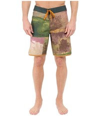 Prana High Seas Shorts Hunter Men's Swimwear Green
