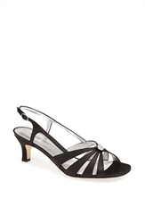 David Tate 'Rosette' Sandal Black