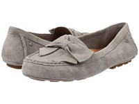 Ugg Lilliana Sterling Suede Women's Flat Shoes Gray