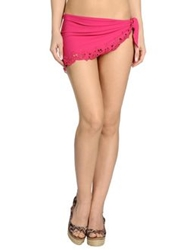 Ermanno Scervino Beachwear Sarongs Fuchsia