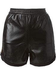 8Pm Perforated Shorts Black
