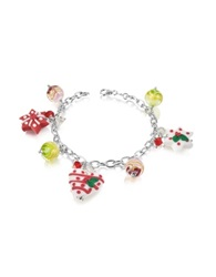 Dolci Gioie Christmas Hearts And Stars Bracelet Multicolor