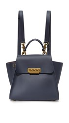 Zac Posen Eartha Convertible Backpack Blu