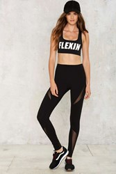 Drew High Waisted Leggings Black