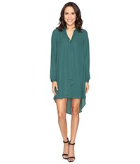Brigitte Bailey Kali Shirtdress With Back Button Detail Pine Women's Dress Green