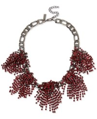 Inc International Concepts Rhinestone Statement Necklace Only At Macy's Red