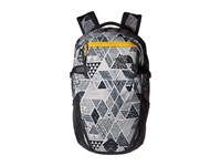The North Face Iron Peak Backpack Trickonometry Print Radiant Yellow Backpack Bags Gray
