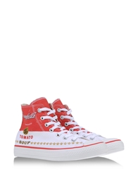 Andy Warhol X Converse High Tops White