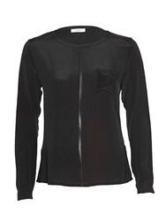 Aaiko Silk Blouse Black