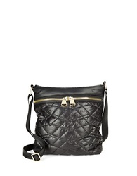 Dolce Vita Quilted Crossbody Bag Black