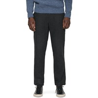 Gant Rugger Charcoal Melange Wooly Trousers Grey