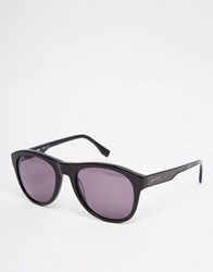 Lacoste Round Sunglasses Black