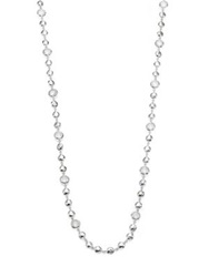 Ippolita Rock Candy Clear Quartz And Sterling Silver Long Beaded Necklace