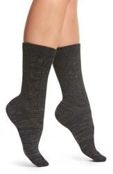 Treasure And Bond Women's Cable Knit Crew Socks