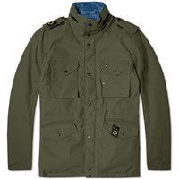 Ma.Strum Reverse Field Jacket Oilslick And Northern Blue
