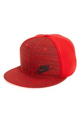 Nike Men's 'True Tech' Snapback Cap Pink University Red Black