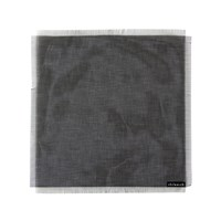 Chilewich Metallic Fringe Square Placemat Jet