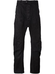 11 By Boris Bidjan Saberi Loose Fit Jeans Black