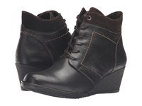 Spring Step Sem Dark Brown Women's Dress Lace Up Boots