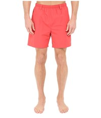 Columbia Backcast Iii Water Trunk Sunset Red Men's Shorts Multi
