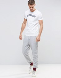 Tommy Hilfiger Colour Block Cuffed Joggers Grey