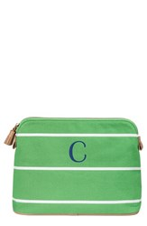Cathy's Concepts Personalized Cosmetics Case Green C