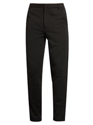 Mcq By Alexander Mcqueen Slim Leg Tuxedo Track Pants Black Multi