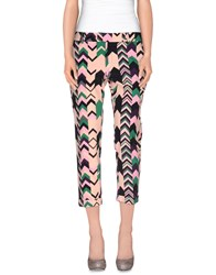 M Missoni Trousers 3 4 Length Trousers Women Pink