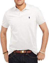 Polo Big And Tall Classic Fit Mesh Shirt White