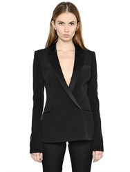 Thierry Mugler Techno Blend Cady Jacket