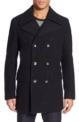 Men's J. Lindeberg 'Wilton Army Casentino' Wool Blend Coat