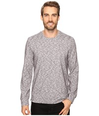 Kenneth Cole Side Zip Ottoman Crew Heather Grey Men's Clothing Gray