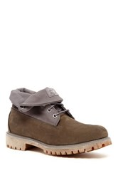 Timberland Roll Top Monochromatic Boot Ss Gray