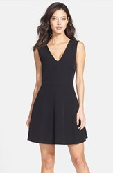 Women's Felicity And Coco Back Cutout Fit And Flare Dress Nordstrom Exclusive